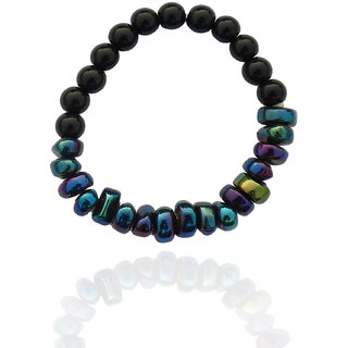 Beadworks Black Bracelet For Women