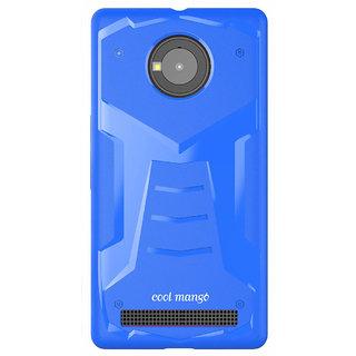 Yu Yuphoria Back Cover - Cool Mango TransArmor TPU for Micromax Yu Yuphoria -  Cool Blue