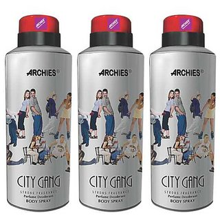 Archies Deo City Gang (Set of 3)