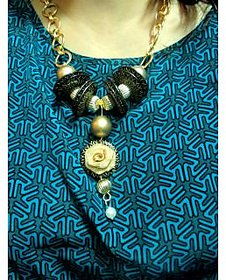 ZeyZes Necklace stylish , Funky , trendy and attractive jewelry peice