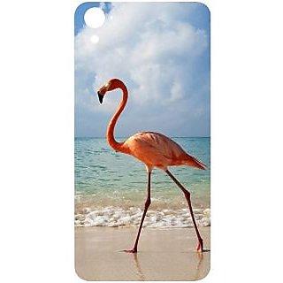Casotec Egret Bird on Sea Design Hard Back Case Cover for HTC Desire 826