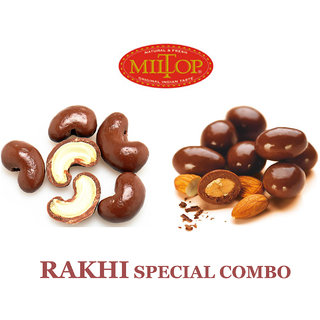 Miltop Chocolate Coated Dryfruit