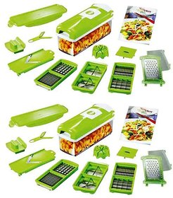 buy 1 get 1 free - Multiutility Multi Chopper Vegetable Cutter Fruit Slicer