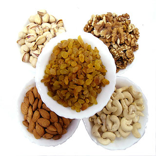 Miltop Dry Fruits Super Saver Combo - 5 Kg