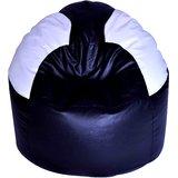 White  amp; Black Bean Bag Chair Cover