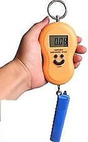 eDeal Portable Electronic Weighting Scale 40kg Pocket Weight Scale With Hanging Hook