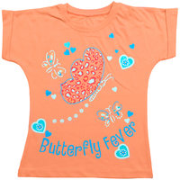 Kothari Girls Peach Top