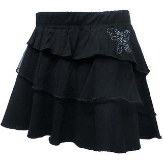 Kothari Girls Black Skirt