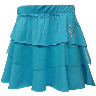 Kothari Girls TBlue Skirt