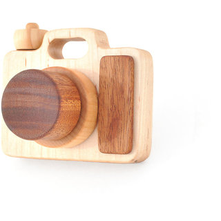 Wooden Toy Camera - Eco-friendly Imagination Toy - Pretend Play for a Baby Toddler or a Preschooler