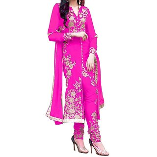 arjan pink mm suit dress materials