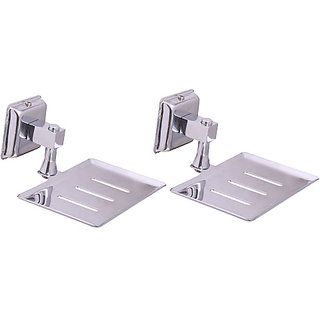 Zahab Plenet-9 Stainless Steel Soap Dish Buy 1Get 1