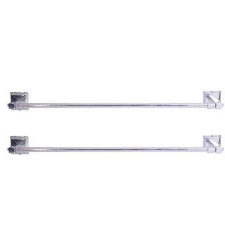 Zahab Plenet-9 Stainless Steel Towel Rod Buy 1Get 1