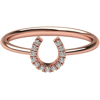 Real Diamonds And Hallmarked 18Kt Rose Gold Ring La 9_Rose_Gold_18Kt