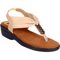 Karizma Women's Designer Beige Heel Sandal Heels