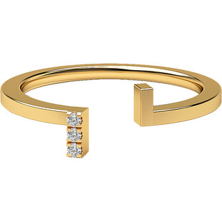 Real Diamonds And Hallmarked 14Kt  Yellow Gold Ring La-15_Yellow_Gold_14Kt