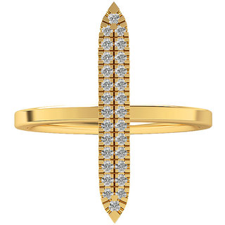 Real Diamonds   Hallmarked 14Kt Yellow Gold Ring La 17_Yellow_Gold_14Kt