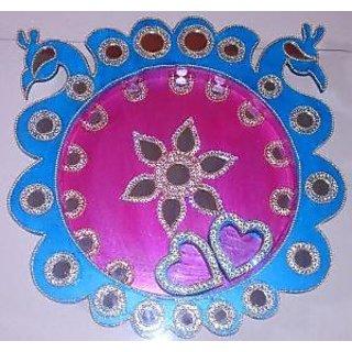handcrafted Puja pooja thali
