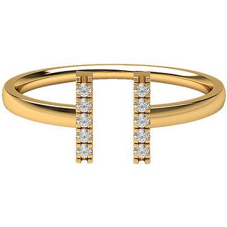 Real Diamonds   Hallmarked 14Kt Yellow Gold Ring La 23_Yellow_Gold_14Kt