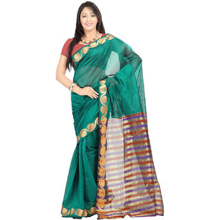 Aaina Printed Fashion Tissue Sari (FL-10326)
