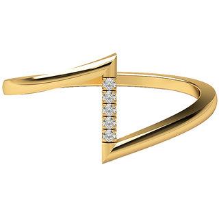 Real Diamonds & Hallmarked 14Kt  Yellow Gold Ring La-33_Yellow_Gold_14Kt