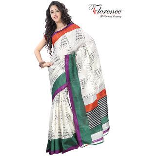 Aaina Multi Printed Malbari Silk Saree (FL-1339-C)