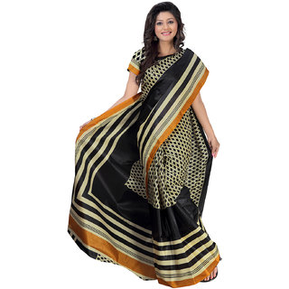 Florence Casual Wear Multi Art Silk Printed Saree (FL-3065)
