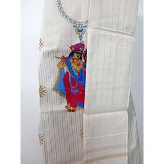 Traditional Kerala handloom salwar material at very low price