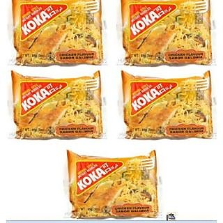 koka chicken Flavour Instant Noodles 85Grams (Pack of 5)