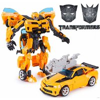 Kiditos Transformer 4 Leader Class Bumblebee Action Figures Robots Toy