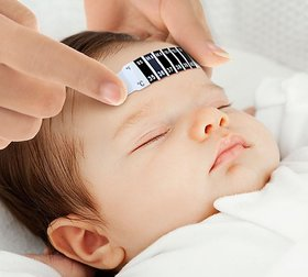 Forehead Strip Thermometer with Manual
