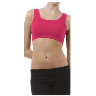 Pink Air Bra No Straps No Clips Ishita Fashions
