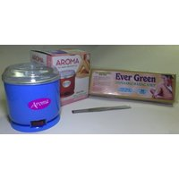 Combo of Aroma Wax Heater  Disposable Hair Removal Waxing (90 Strips) With Wax Knife (Set of 1)