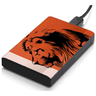 meSleep Lion Hard Drive Skin