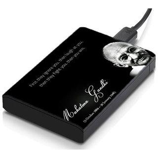 meSleep Gandhi Hard Drive Skin