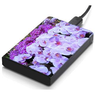 meSleep Floral Hard Drive Skin