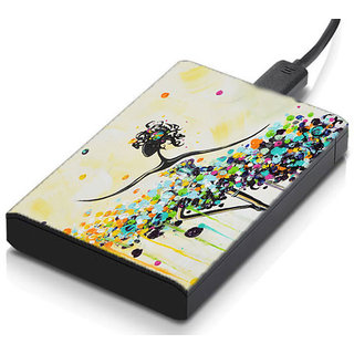 meSleep Dancing Hard Drive Skin