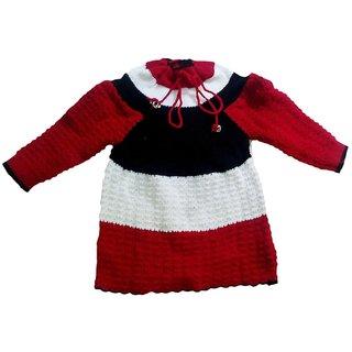 BebzCozzy Multicolour Woolen Full Sleeves Sweater