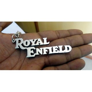 Royal Enfield Personal Name Keychain handcarved Key chain