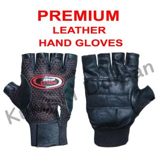 Fashno Leather Multipurpose Gym Gloves With Padded Palm Support