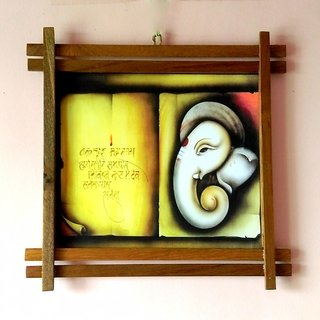 Wall Hanging Printed Frames in Wooden