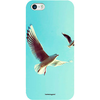 Homesogood Bird Fly In The Sky Multicolor Case For iPhone 5/5s (Back Cover)