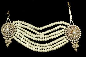 Zaveri Pearls Modern Look Side passa-ZPFK2910