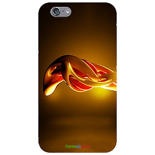 HomeSoGood Shining Flowing Liquid Golden Case For iPhone 6 (Back Cover)