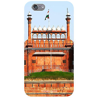 HomeSoGood Red Fort Delhi Multicolor Mobile Cover For iPhone 6 (Back Cover)