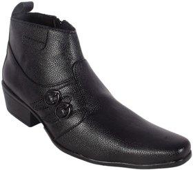 George Adam Men'S Black Casual Shoe ch15003-black