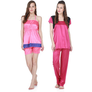 Claura Stylish Combo Of Lowertop And Shorts Top