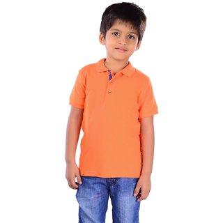 COLSA Boys T-shirt-Orange