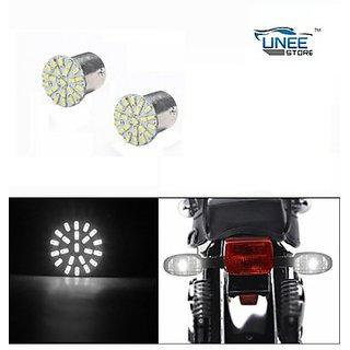 Bike Indicator Bulb Smd Led White Bullet All Model (abc11030)