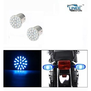 Bike Indicator Bulb Smd Led Blue  Bullet 500 (abc11121)